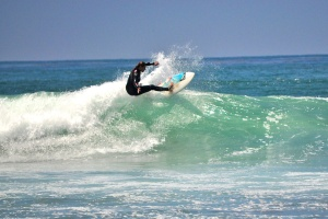 Surfer Girl at Trestles 3