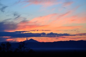 Mojave Sunset Dec 30, 2012